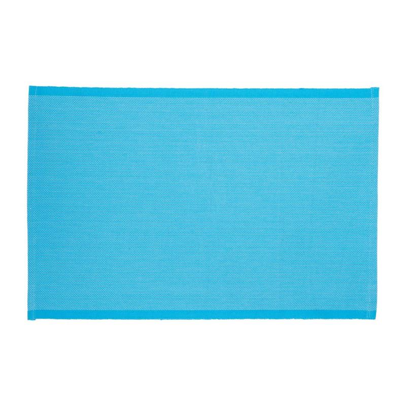 Placemat stip - 33x48 - blauw