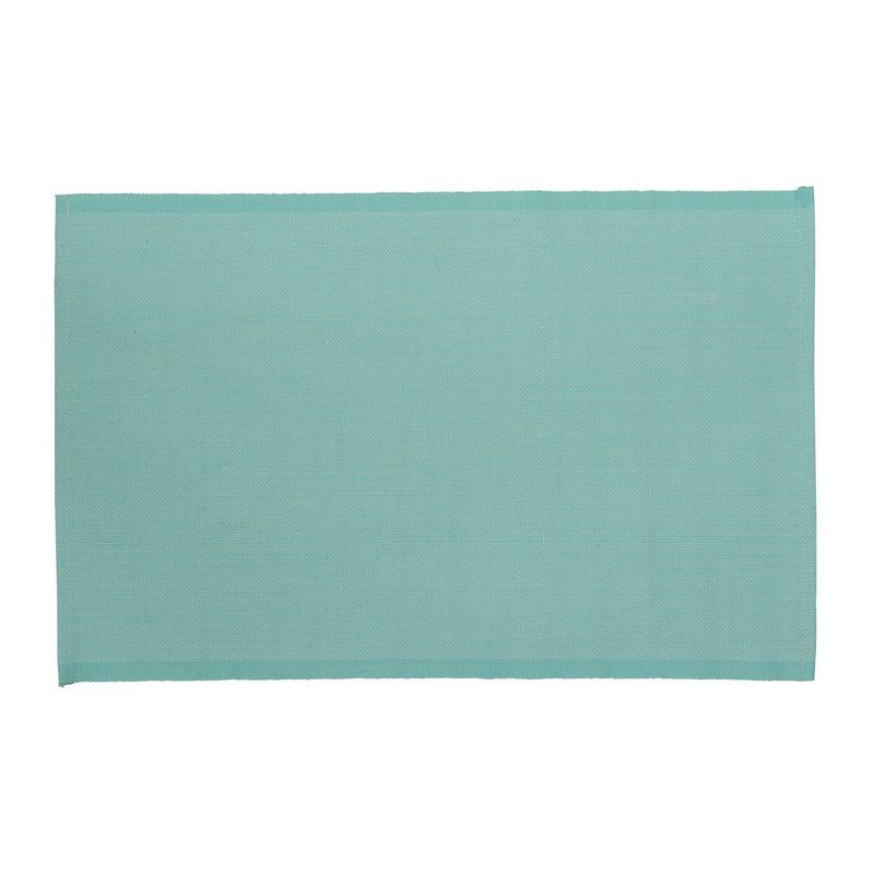 Placemat stip - 33x48 - turquoise