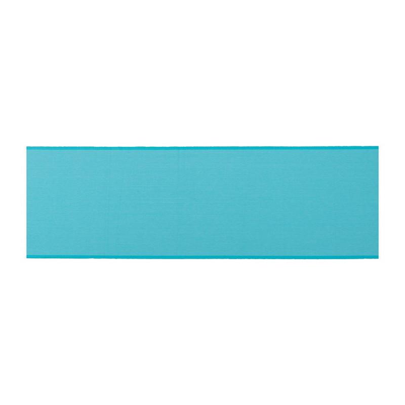 Tafelloper stip - 45x150 cm - blauw