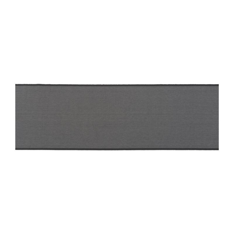 Tafelloper stip - 45x150 cm - grijs