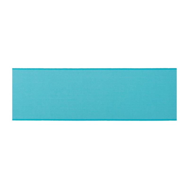 Tafelloper stip - 45x240 cm - blauw