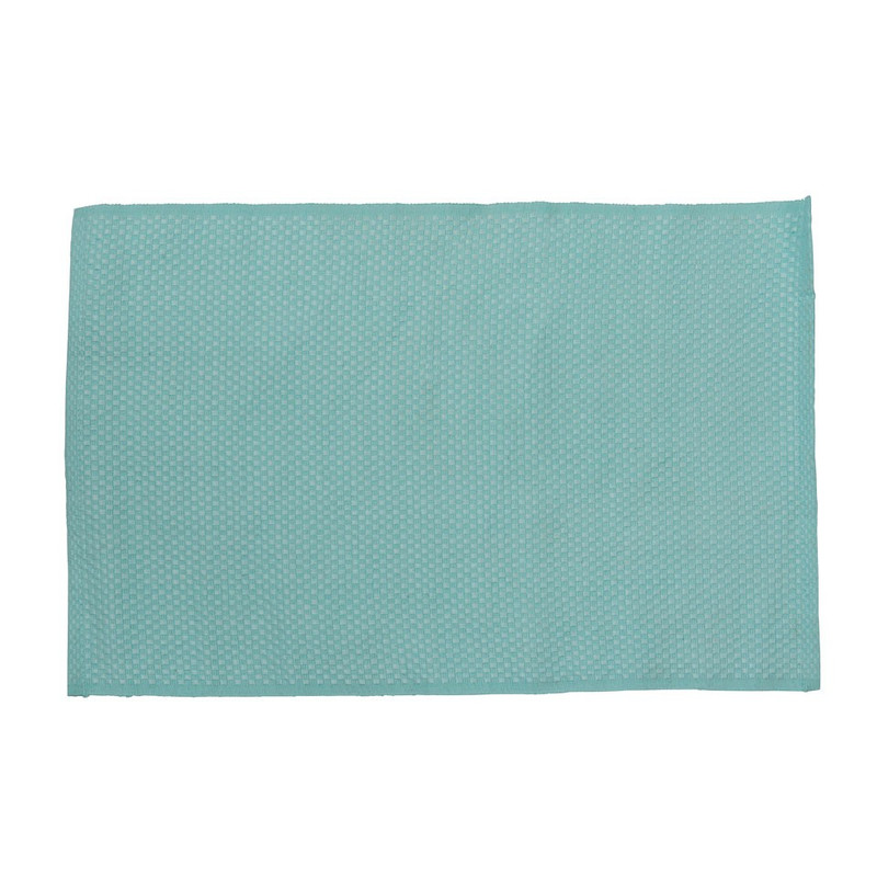 Placemat wafel - 33x48 - turquoise