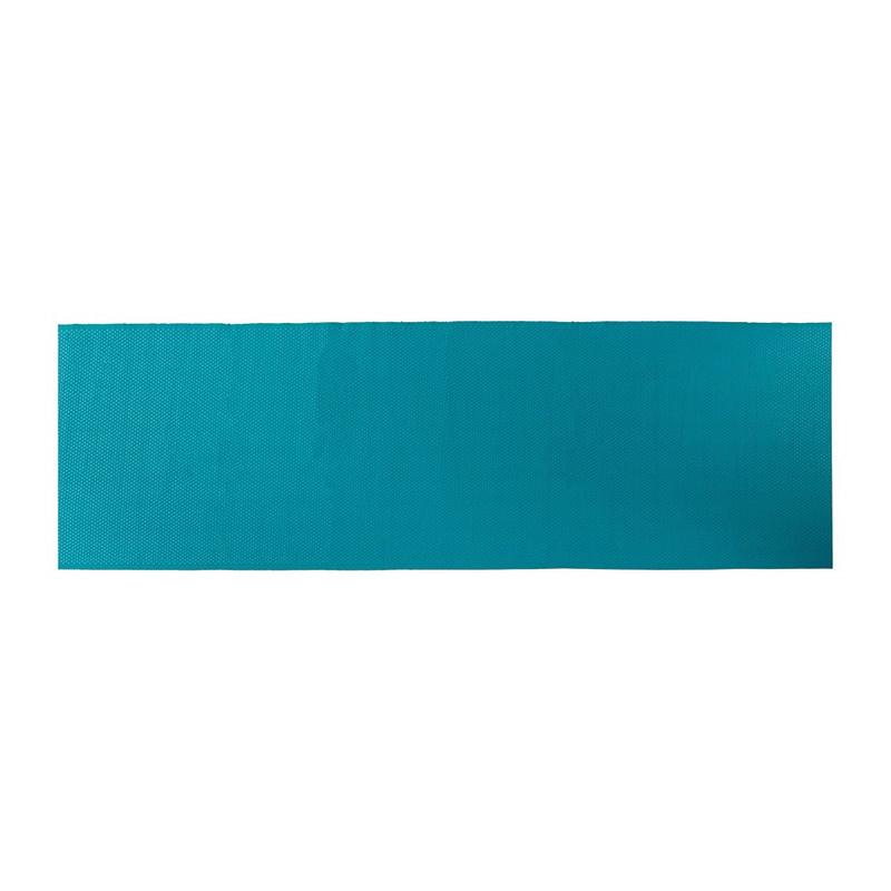 Tafelloper wafel - 45x240 cm - blauw