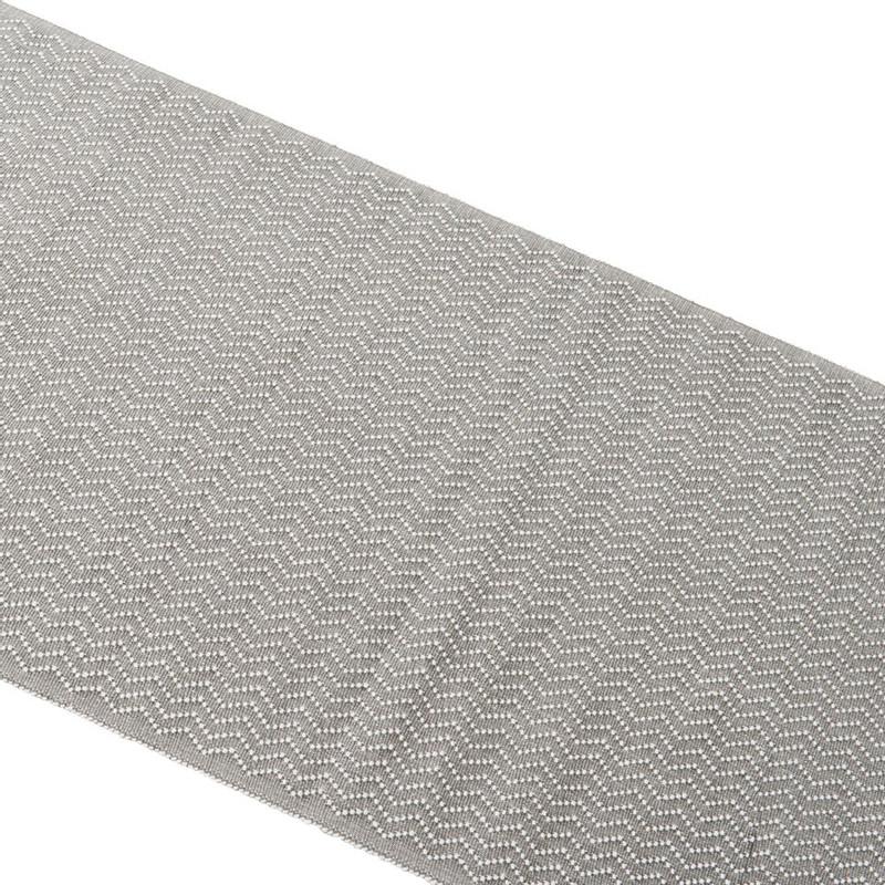 Tafelloper zigzag - 45x240 cm - grijs