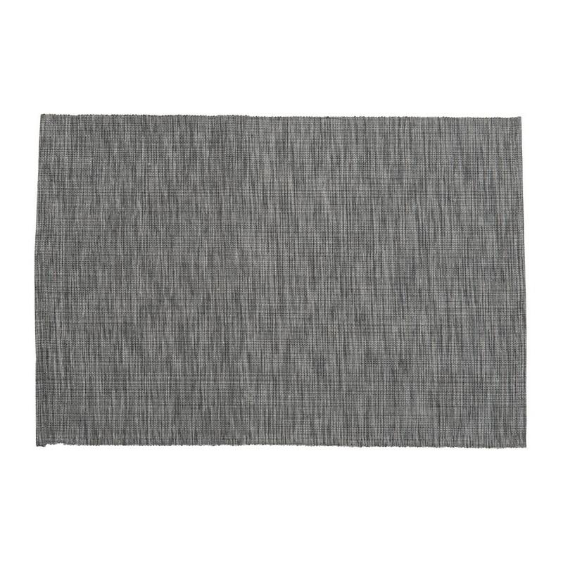 Placemat melange - grijs - 48x33 cm