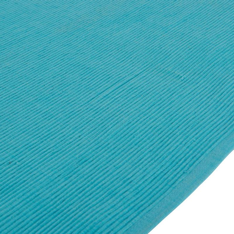 Tafelloper rib - 45x240 cm - blauw