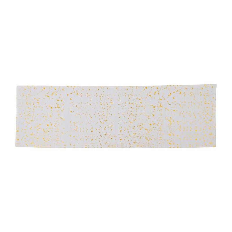 Tafelloper foil - goud - 150x45 cm