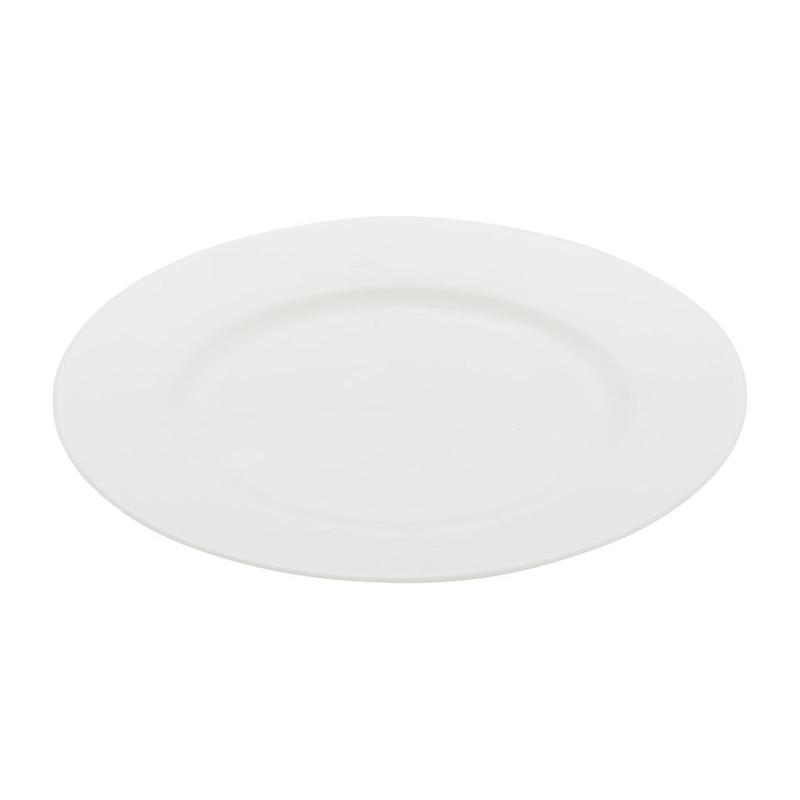 Ontbijtbord Pearl rand - 21 cm