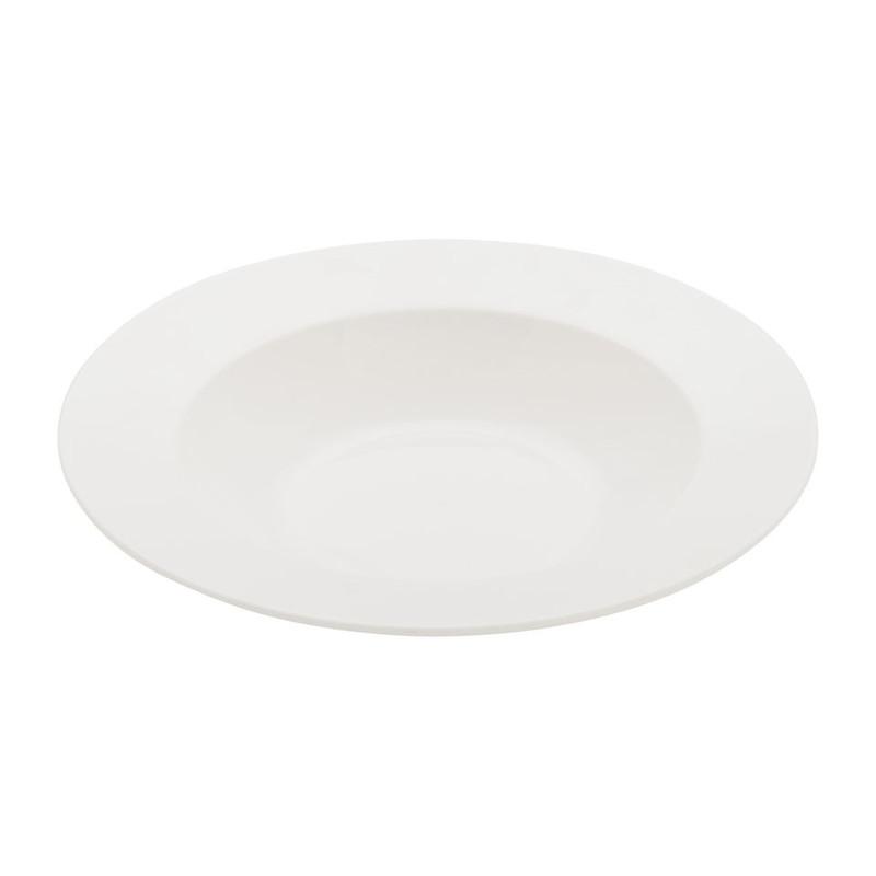 Diep bord Pearl rand - 23 cm