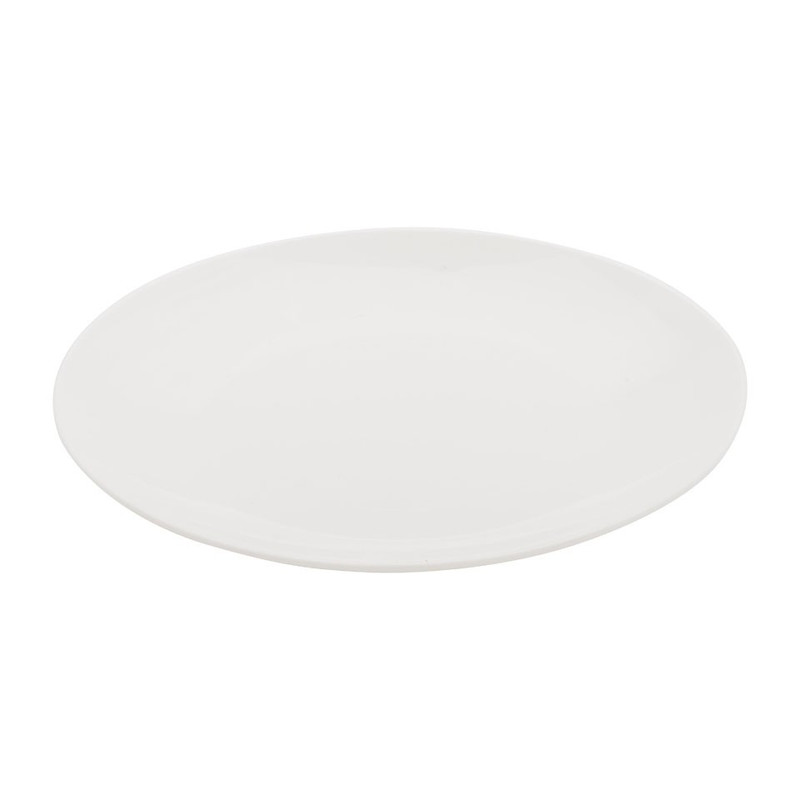 Ontbijtbord Pearl coupe - 21 cm
