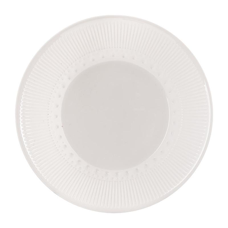 Soepbord Alizee - wit - 23 cm