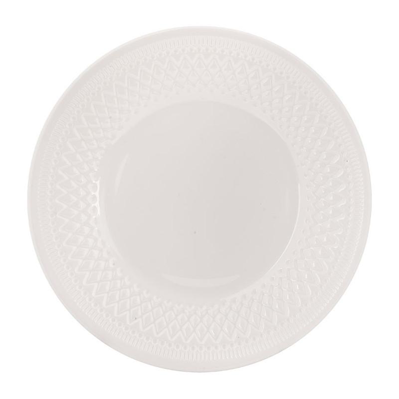 Ontbijtbord Alizee - wit - 22 cm