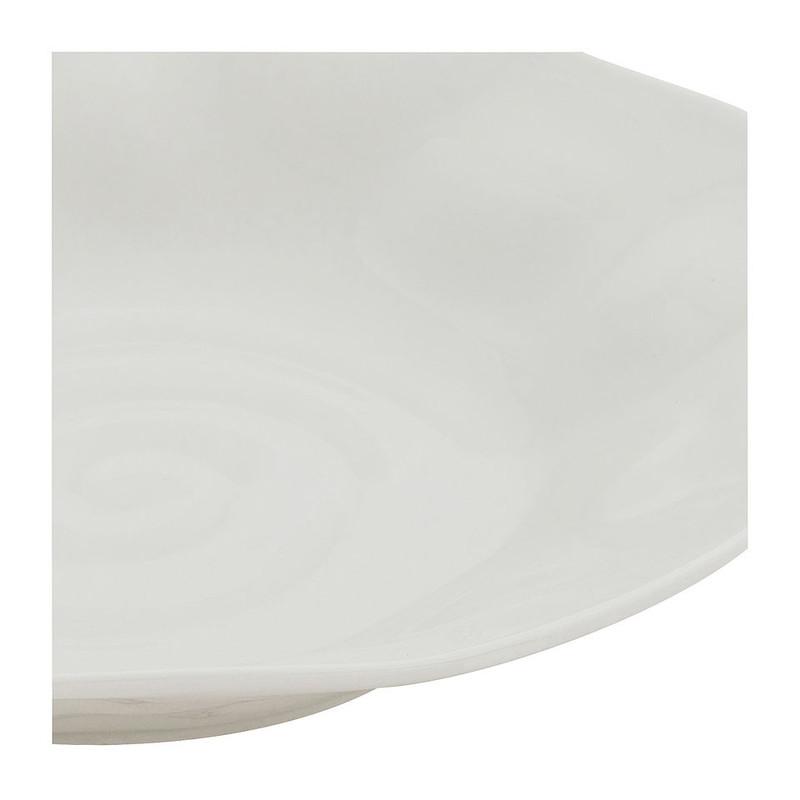 Diep bord Ilori - 21 cm - lichtgrijs