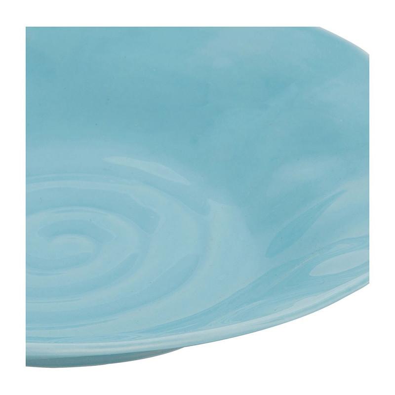 Diep bord Ilori - 21 cm - blauw