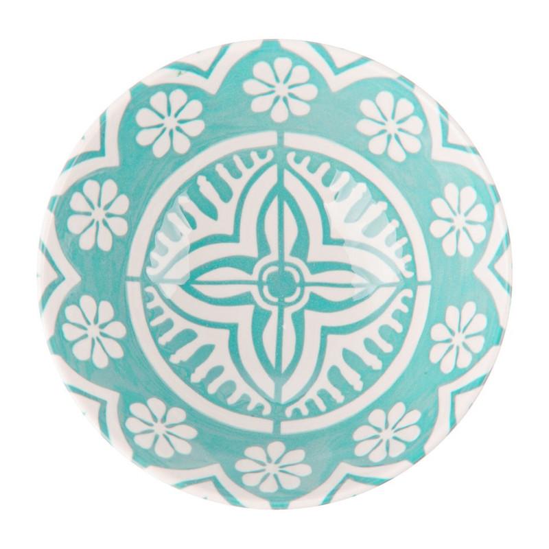 Schaaltje Puablo - 14 cm - blauw
