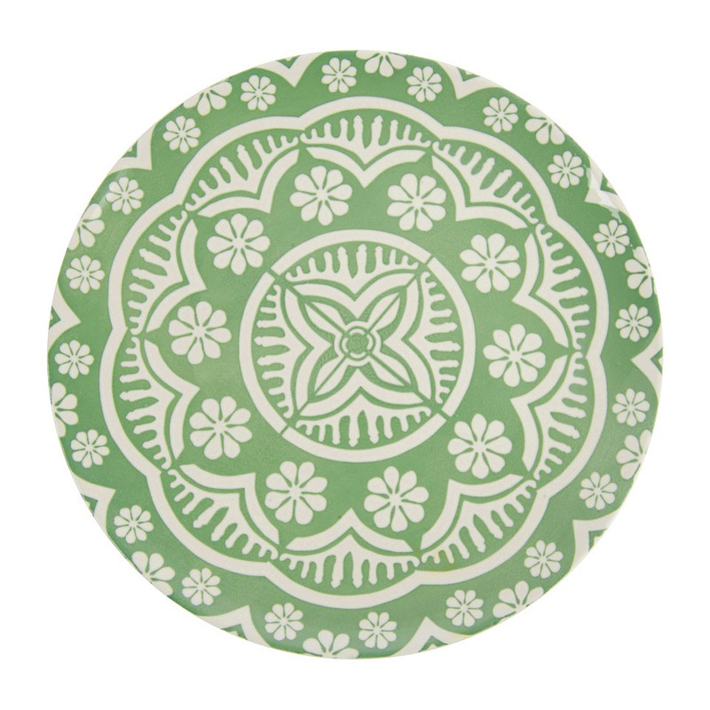 Dinerbord Puablo - 27 cm - groen