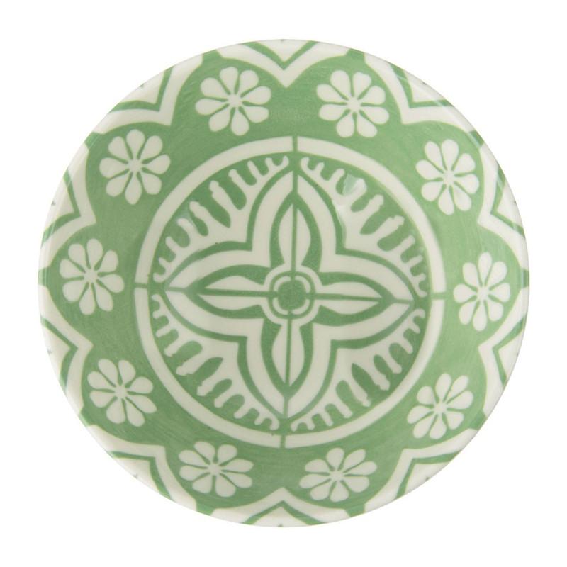 Schaaltje Puablo - 14 cm - groen
