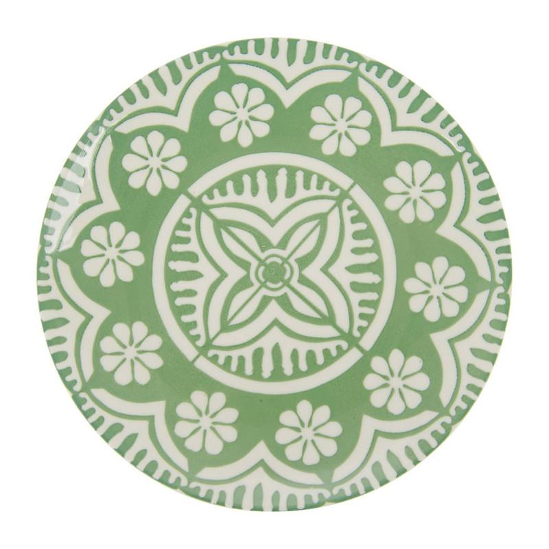Ontbijtbord Puablo - 20 cm - groen