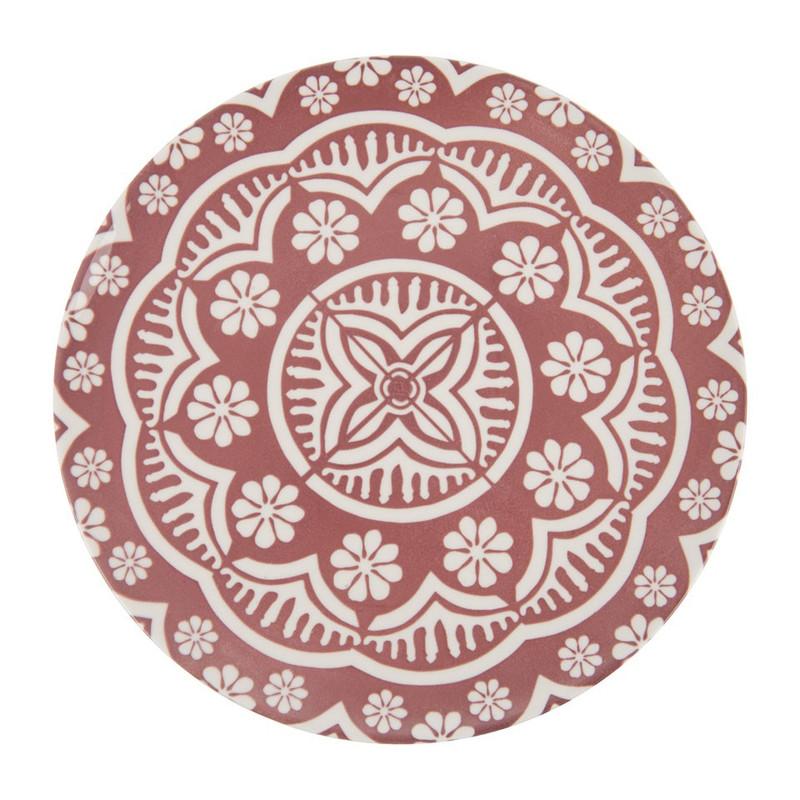 Dinerbord Puablo - 27 cm - rood