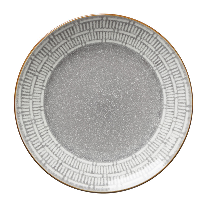 Dinerbord Yara - grijs - ⌀26.8 cm
