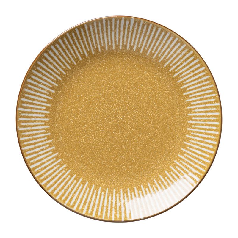 Dinerbord Yara - geel - ⌀26.8 cm