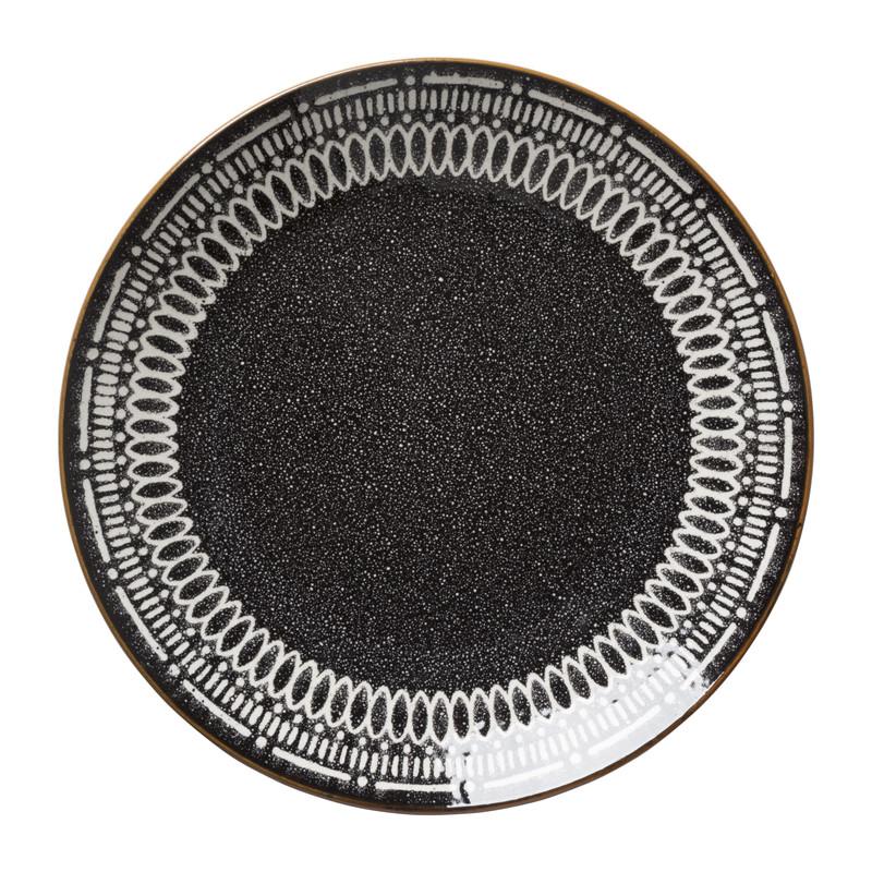 Dinerbord Yara - zwart - ⌀26.8 cm