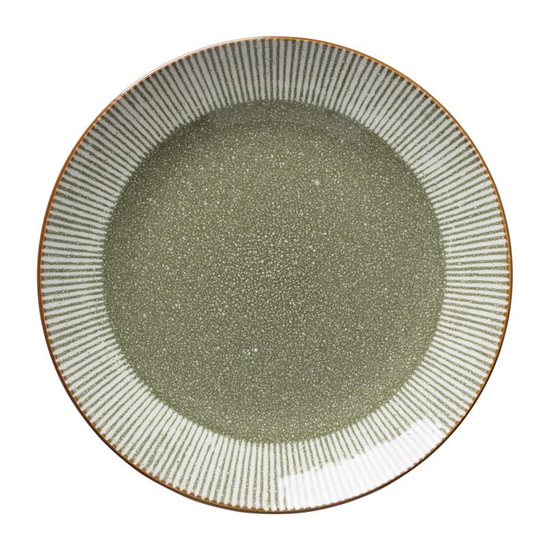 Dinerbord Yara - groen- ⌀26.8 cm