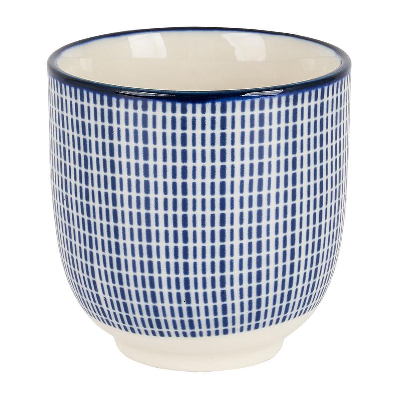 Cup blue print - diverse varianten - 150 ml