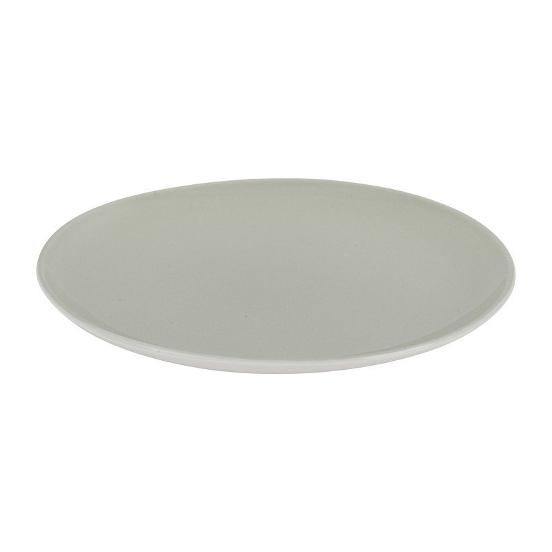 Ontbijtbord pastel grijs - 20,5 cm