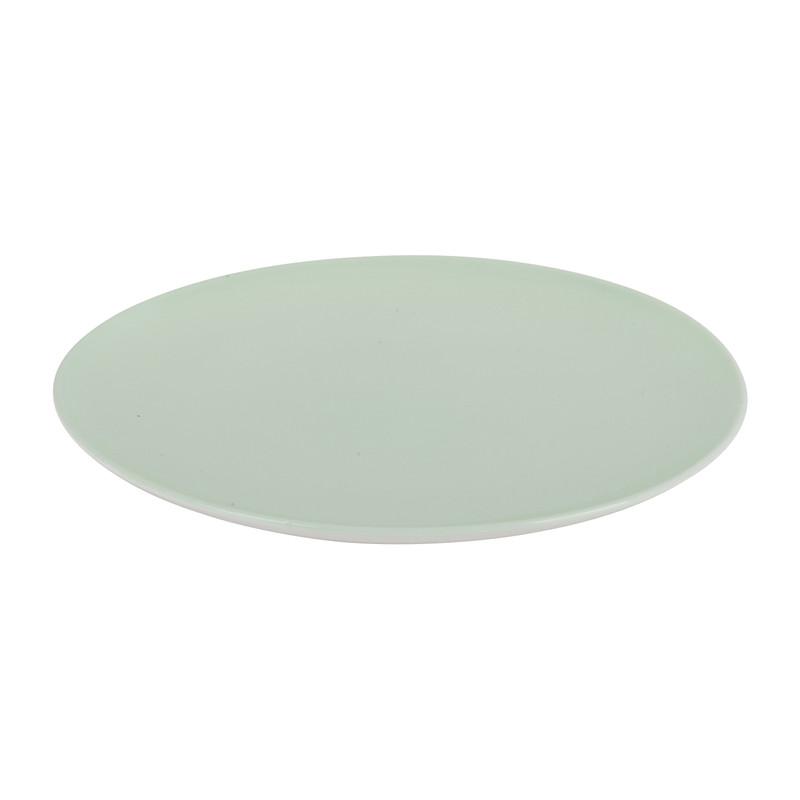 Ontbijtbord pastel groen - 20,5 cm