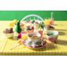 Ontbijtbord pastel roze- 20,5 cm