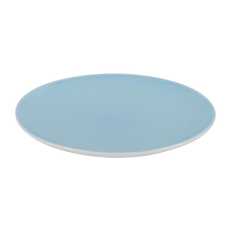 Ontbijtbord pastel blauw - 20,5 cm
