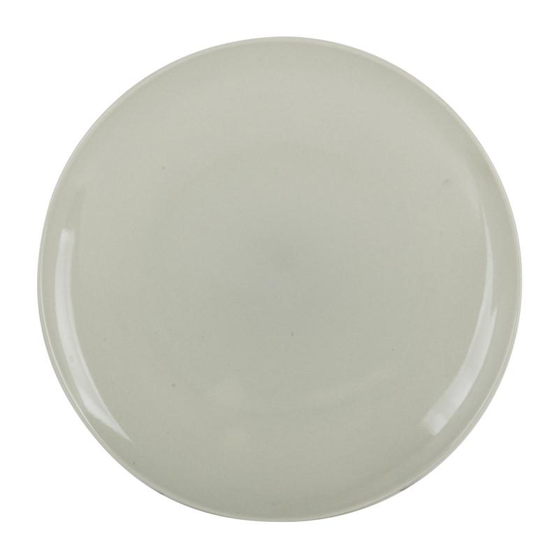 Dinerbord pastel - grijs - 26 cm