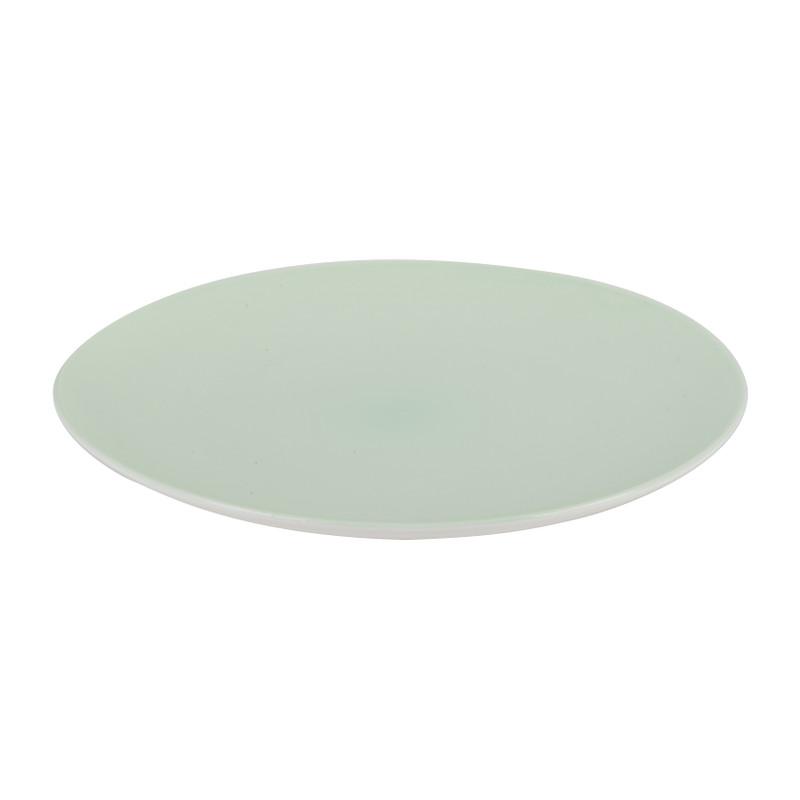 Dinerbord pastel - groen - 26 cm