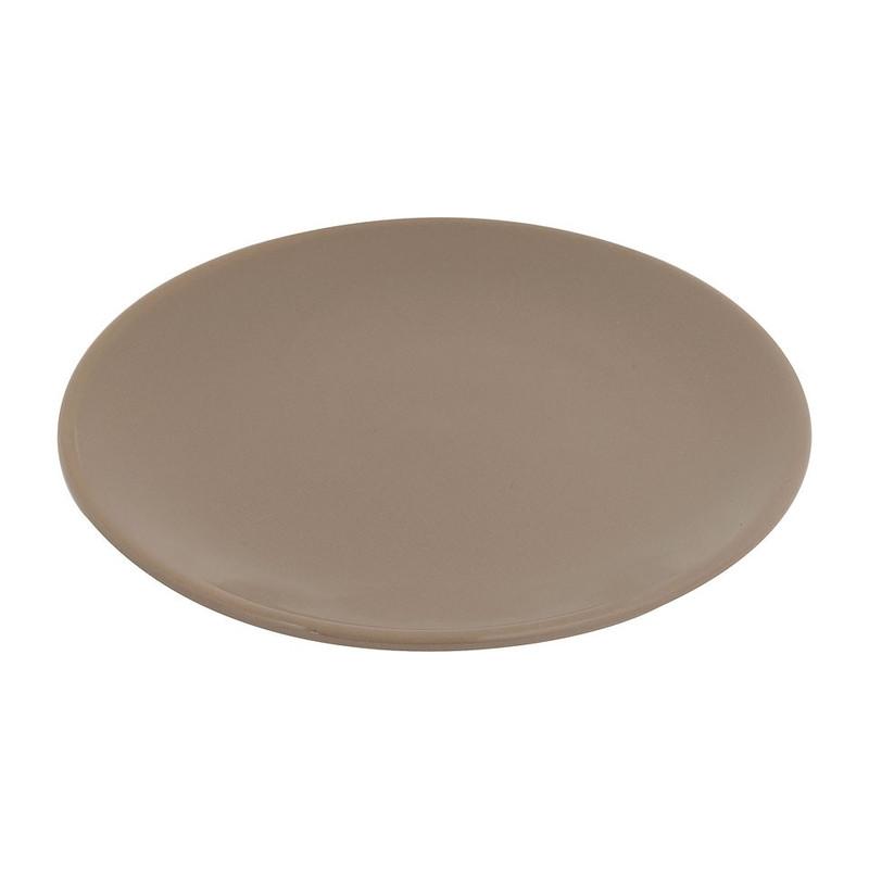 Ontbijtbord basic - taupe - 20 cm