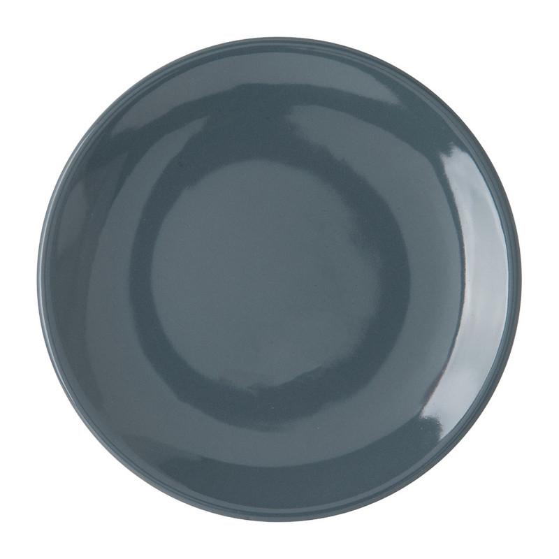 Ontbijtbord basic - 20 cm - grijs