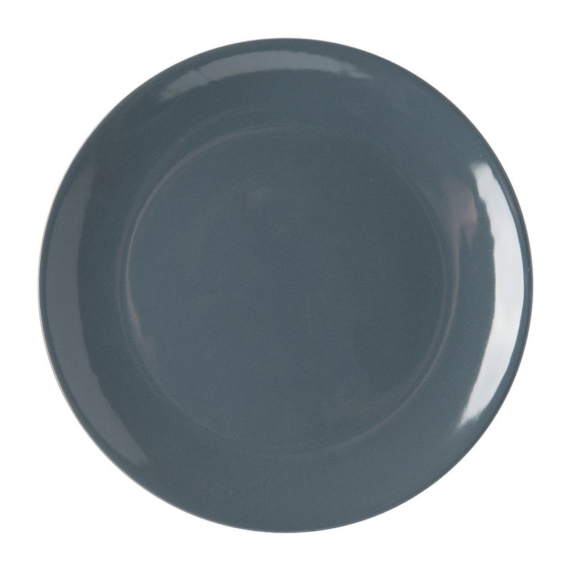 Dinerbord basic - 26 cm - grijs