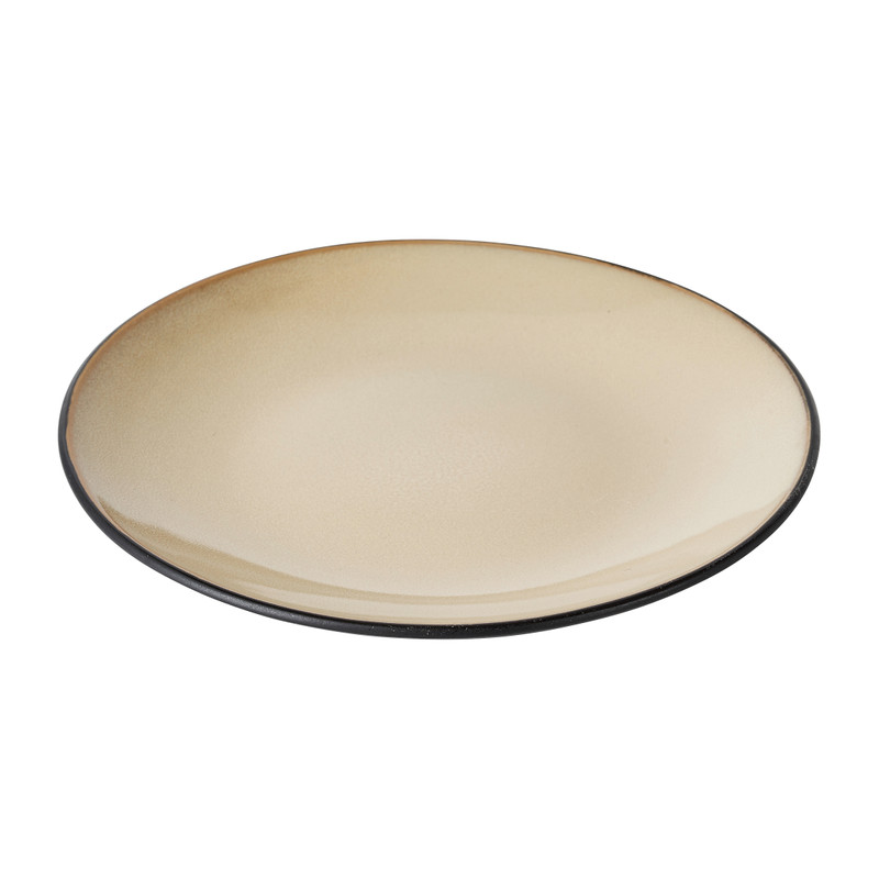 Ontbijtbord Elena - beige - Ø20 cm