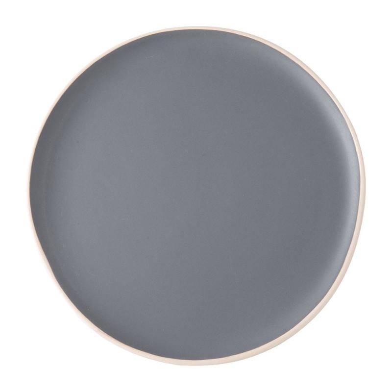 Dinerbord Havana - 26 cm - grijs