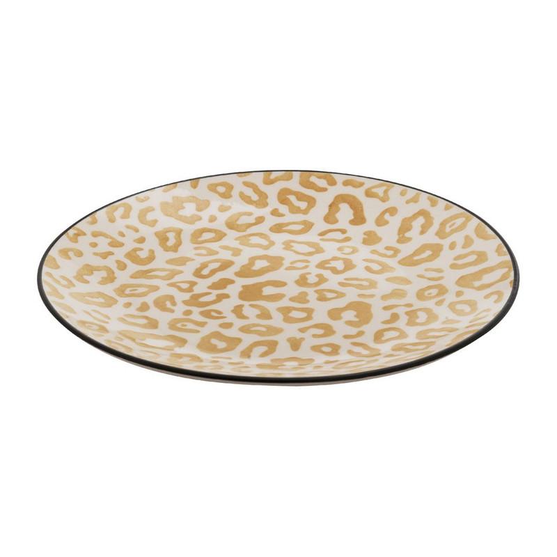 Gebaksbord safari - 19 cm