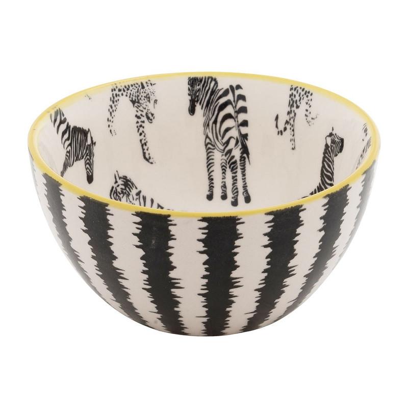 Schaaltje safari - 12 cm - zebra