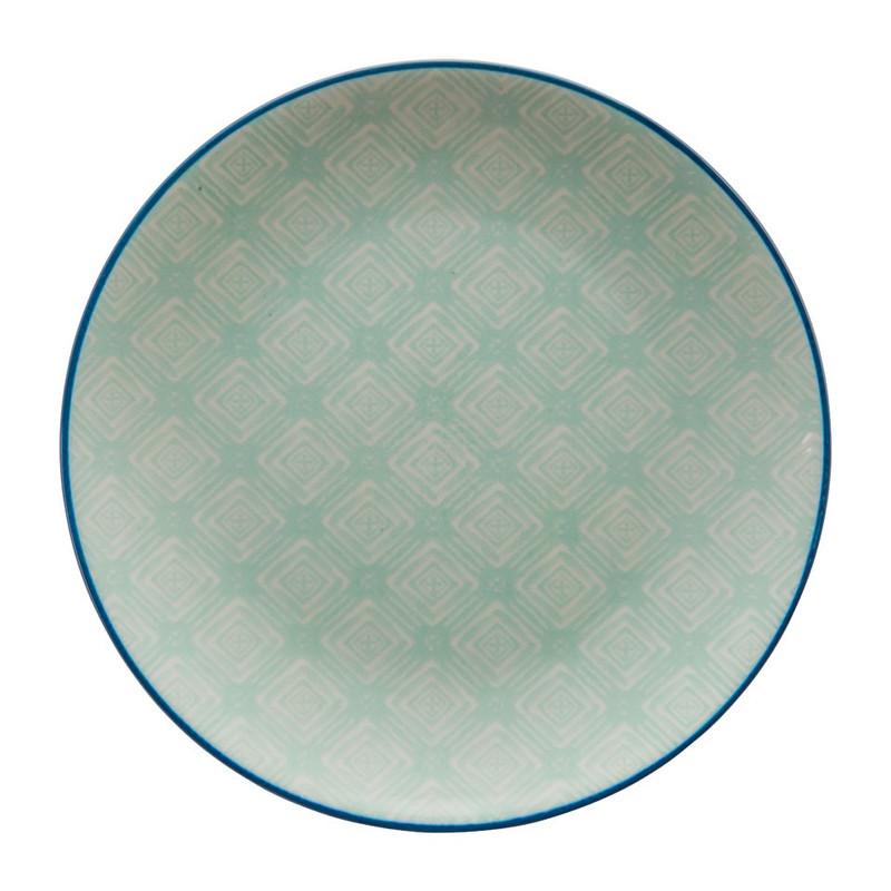 Ontbijtbord nova - groen - 20 cm