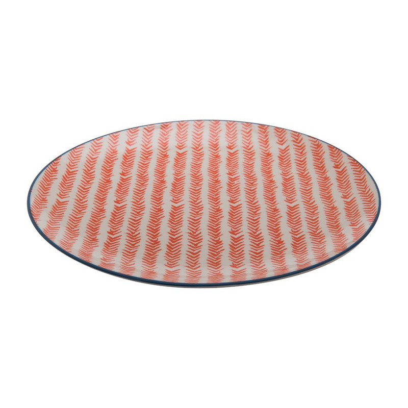 Dinerbord Nova - 27 cm - rood
