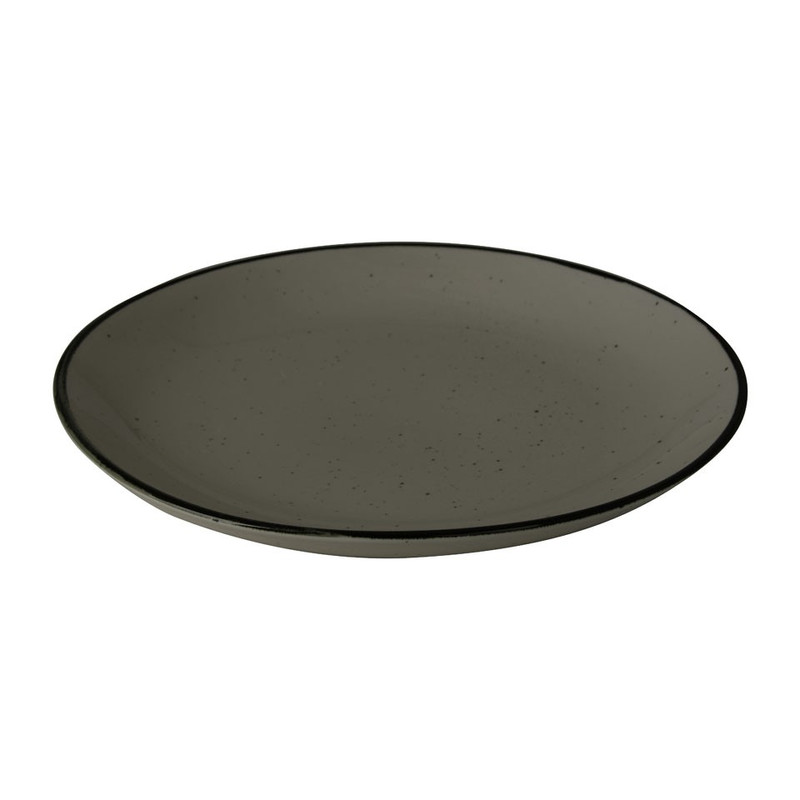 Dinerbord Emma - 25 cm - groen