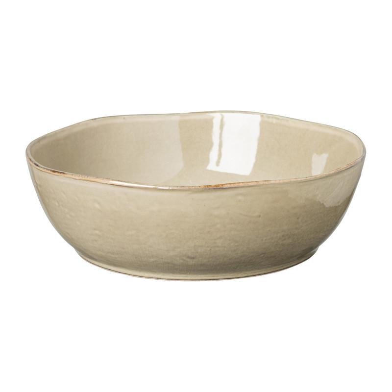 Schaal Toscane - bruin - 22.8 cm