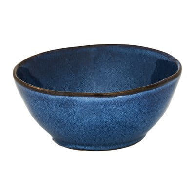 Schaal Toscane - donkerblauw - 17 cm