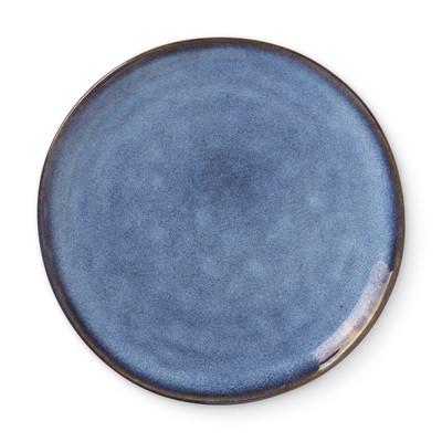 Ontbijtbord Toscane - donkerblauw - ⌀20,5 cm