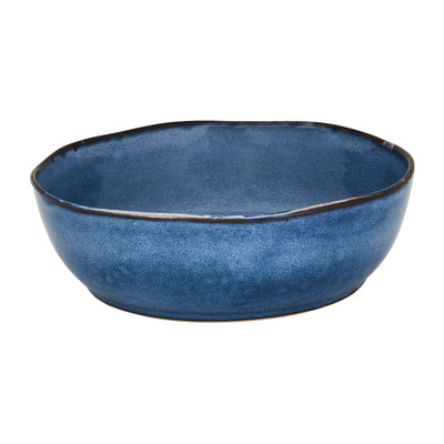 Schaal Toscane - donkerblauw - 22.8 cm