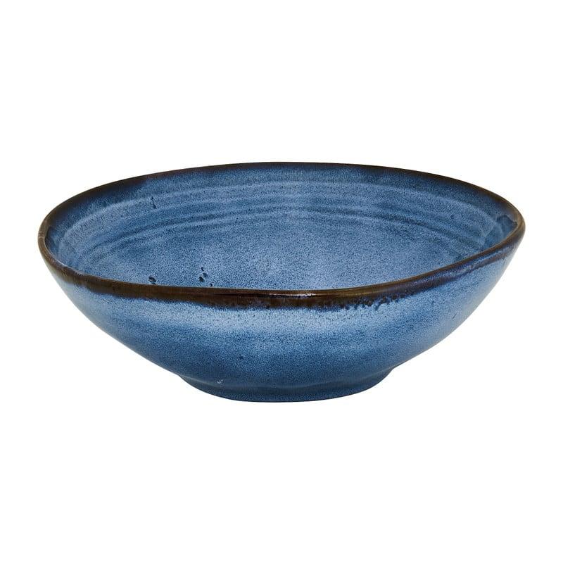 Diep bord Toscane - donkerblauw - 19 cm