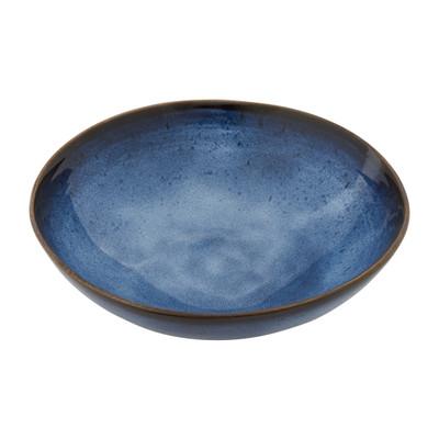 Schaal Toscane - donkerblauw - 24 cm